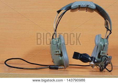 The Army Helicopter Pilot Headset.