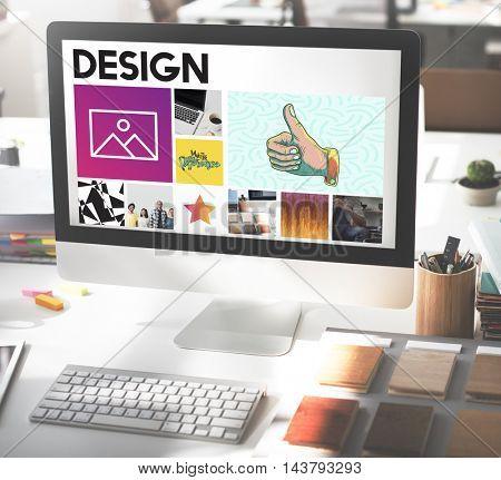 Computer Monitor Innovation Digital Concept