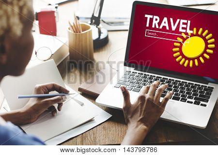 Travel Adventure Casual Concept