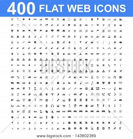 400 Icon set. Vector concept illustration for design.