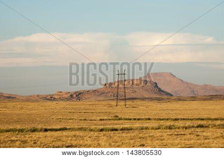 Mountain Range Bektau- Ata. Tract Bektau- Ata. Central Asia Kazakhstan