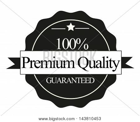Premium quality stamp isolated on white background