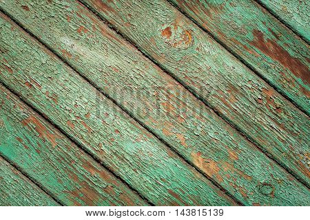 Old vintage bright textured cracked wooden surface. Can be used like backdrop. Rustic style.