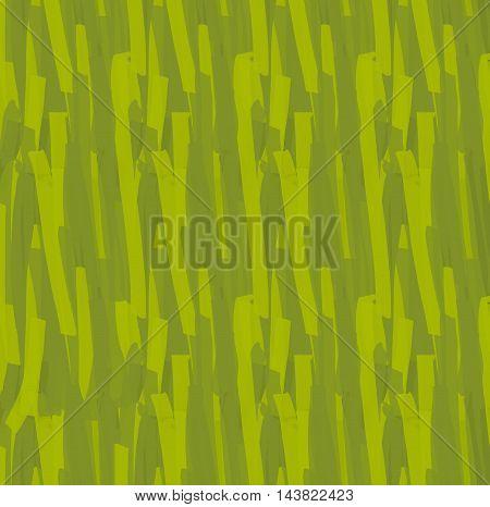 Green Brush Strokes