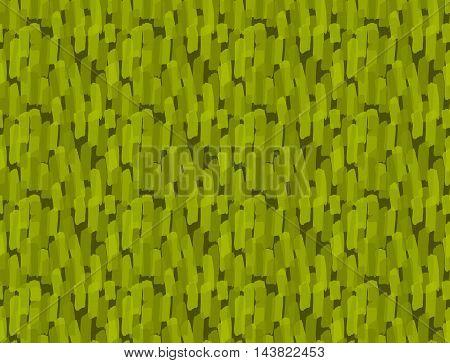 Green Marker Brush Strokes