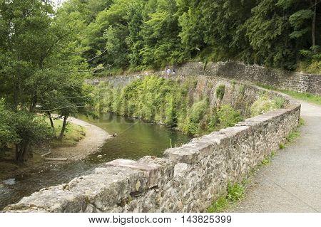 Walk along the river in Saint Jean Pied de Port
