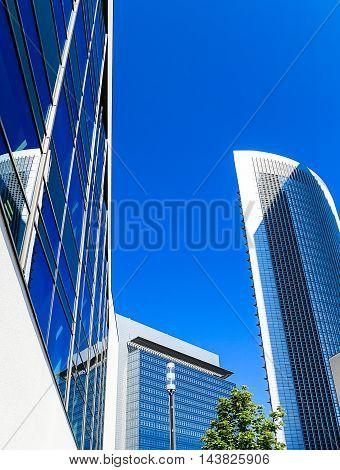 Skyline of Frankfurt am Main, Hesse, Germany