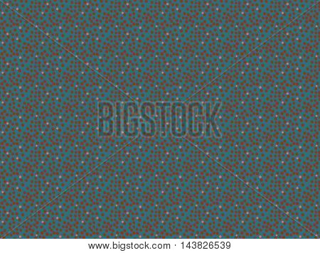 Pink Dots On Blue