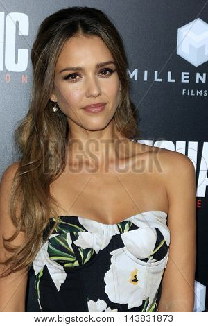 LOS ANGELES - AUG 22:  Jessica Alba at the