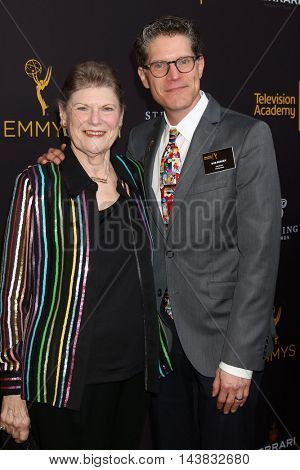 LOS ANGELES - AUG 22:  Mother, Bob Bergen at the Television Academy's Performers Peer Group Celebration at the Montage Hotel on August 22, 2016 in Beverly Hills, CA