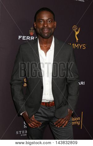 LOS ANGELES - AUG 22:  Sterling K Brown at the Television Academy's Performers Peer Group Celebration at the Montage Hotel on August 22, 2016 in Beverly Hills, CA
