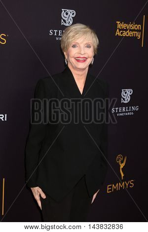 LOS ANGELES - AUG 22:  Florence Henderson at the Television Academy's Performers Peer Group Celebration at the Montage Hotel on August 22, 2016 in Beverly Hills, CA