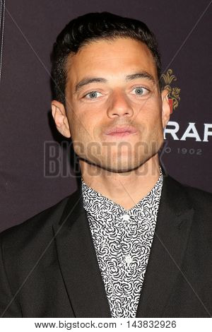 LOS ANGELES - AUG 22:  Rami Malek at the Television Academy's Performers Peer Group Celebration at the Montage Hotel on August 22, 2016 in Beverly Hills, CA