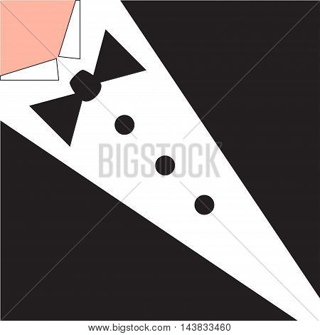 Young success bussiness man . This is file of EPS10 format. vector illustration