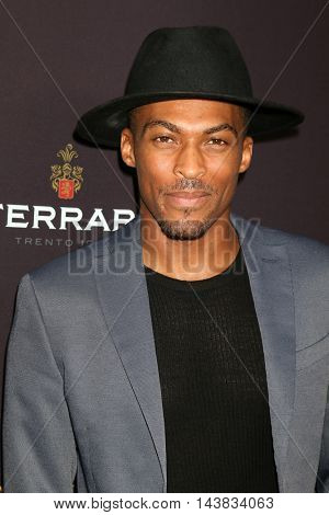 LOS ANGELES - AUG 22:  Shamar Sanders at the Television Academy's Performers Peer Group Celebration at the Montage Hotel on August 22, 2016 in Beverly Hills, CA