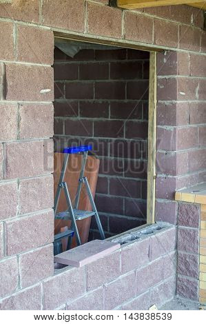 Step-ladder In A Window
