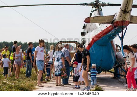 Celebration Of Day Of Air Fleet In Kirov City In 2016
