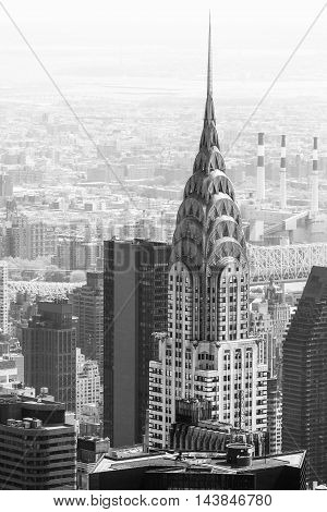 Chrysler Building In Nyc