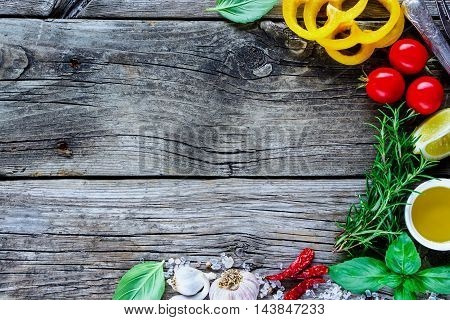 Healthy Cooking Concept