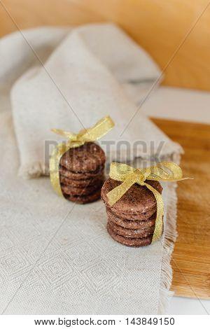 Serving Of Chocolate Cookies