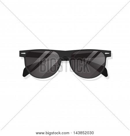 Sunglasses isolated on white background vector illustration