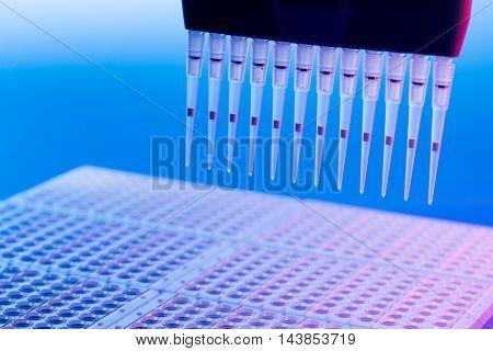 PCR multipipette