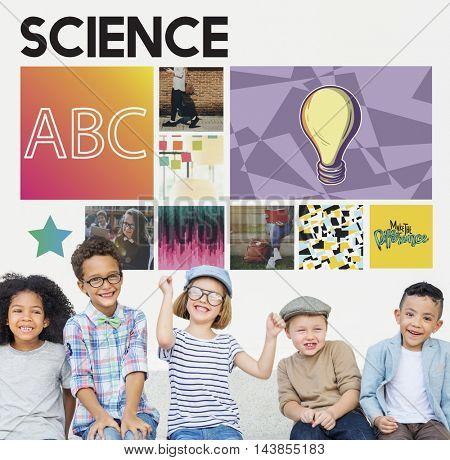 Science Study Children Experiment Concept