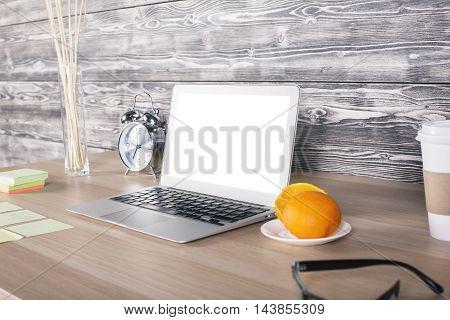 Office Desktop Side