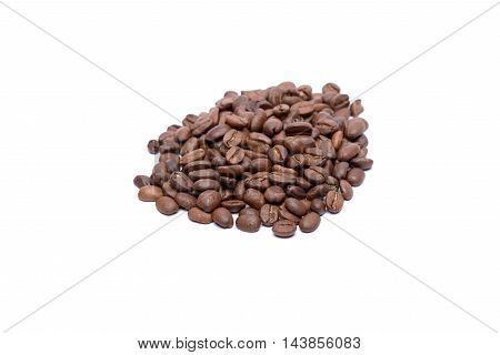 Small Pile Of Coffee Beans