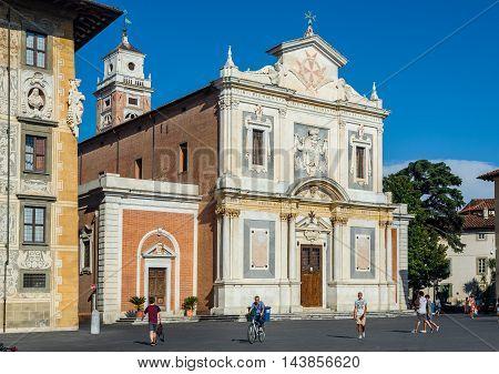 Santo Stefano Dei Cavalieri Church Of Pisa, Italy