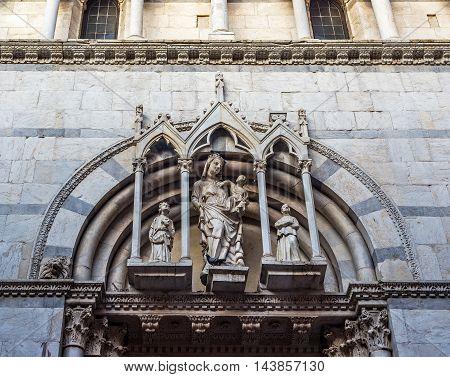 Saint Michele In Borgo Church Of Pisa. Tuscany, Italy.