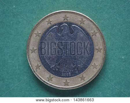 Euro (eur) Coin, Currency Of European Union (eu)