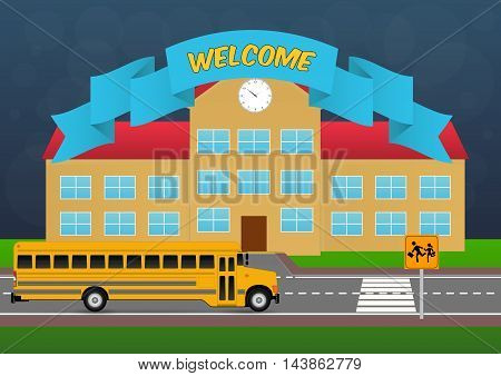 welcome back to school with Schoolhouse and bus school