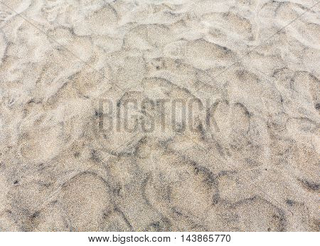 Stone Covered Sand, Background.