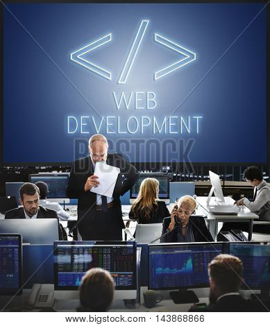Web Development Internet Digital Graphic Html Concept