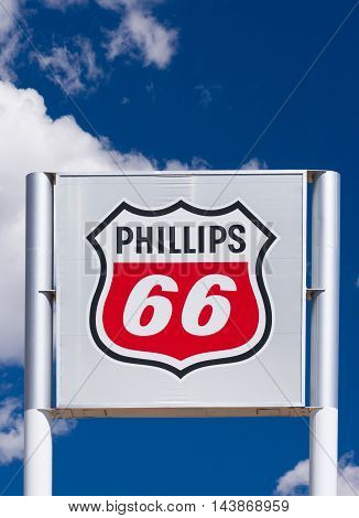 Phillips 66 Gas Station Sign And Logo