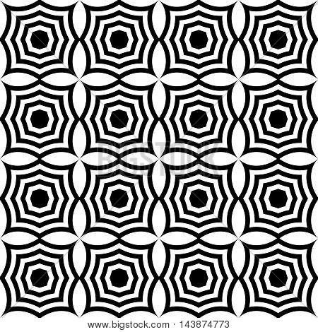 Black And White Pointy Squares