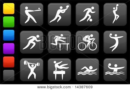 Original vector illustration: sports icon collection