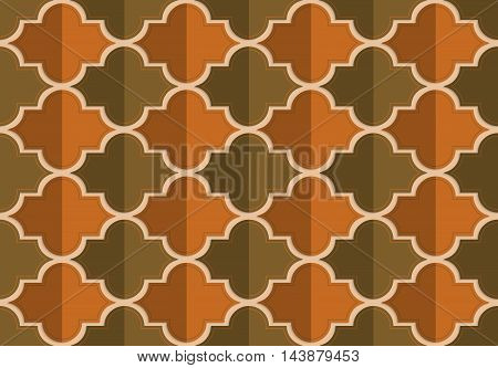 Retro Fold Brownish Marrakesh
