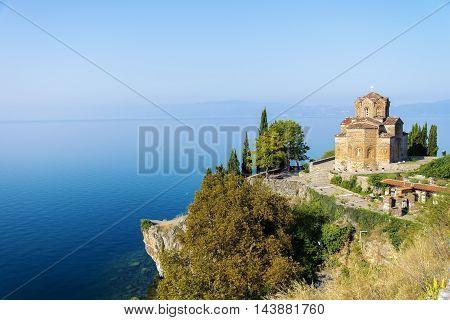 Church of St. John at Kaneo Ohrid Macedonia