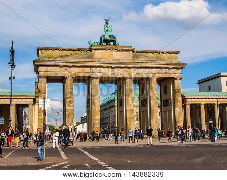 Brandenburger Tor Berlin (hdr)