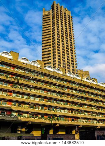 Barbican Estate In London (hdr)