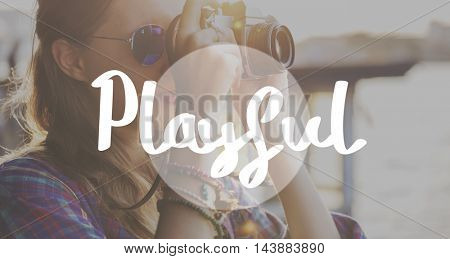 Playful Activity Entertainment Leisure Fun Joy Concept