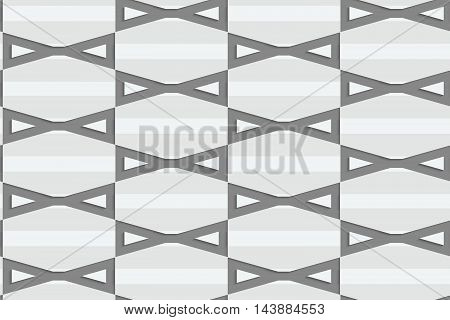 Perforated Bows In Grid