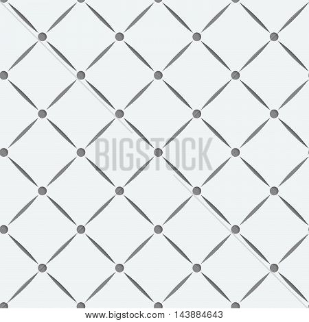 Perforated Square Grid With Nods