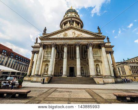 Franzoesischer Dom In Berlin (hdr)