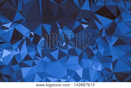 Abstract Low Poly Background, Geometry Triangle