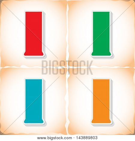 Medical tube. Abstract image Medicine object. Vector illustration.