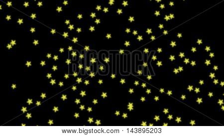 glowing five pointed stars background backdrop image