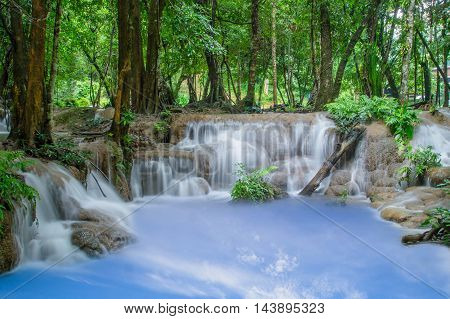 outdoor, wet, tree, thailand, natural, park, national, green, tropical, river, spring, travel, rock, flow, iceland, scenery, stream, summer, clean, paradise, flowing, forest, cool, creek, waterfall, fall, relax, motion, beauty, mountain, scenic, beautiful